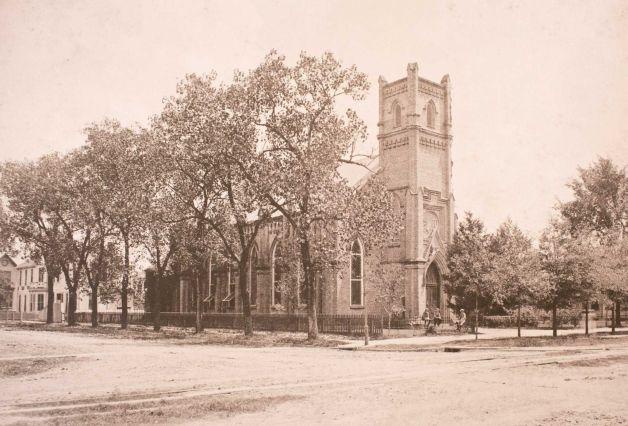 Second Building ca. 1876