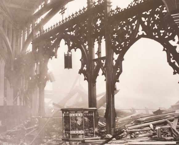 Nave After Fire, 1938