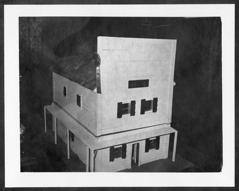 Model of the original Gibbs Brothers building