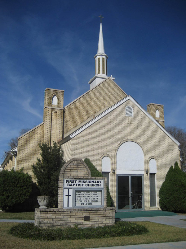 Huntsville's First Baptist Church for African Americans