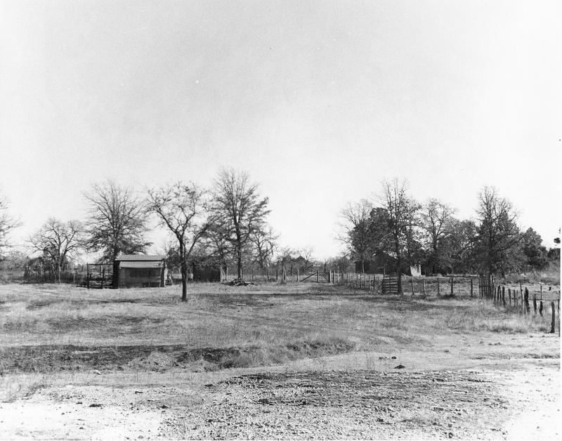 Ruins of the old Newport community.