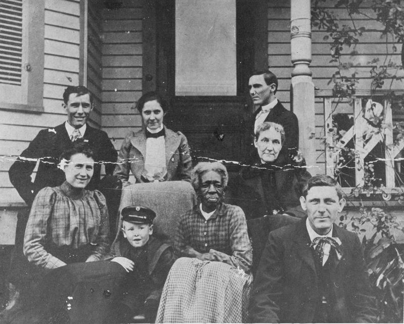 Eliza Revel, Sam Houston's children, and Nancy Lea taken in Independence, Texas
