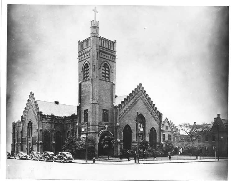 Christ Church Cathedral 1945