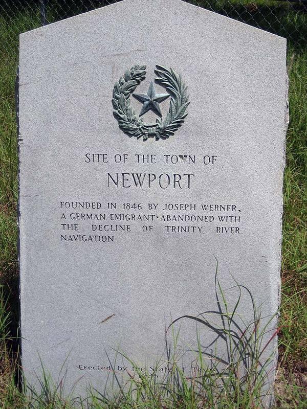Newport Historical Marker