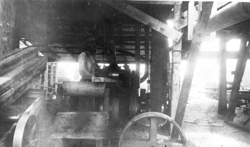 Saw Mill Worker