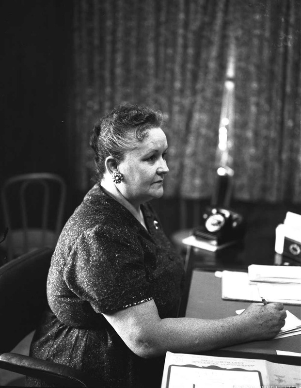 Warden Velda Dobbs of the Goree Unit, circa 1961.&lt;br /&gt;<br />