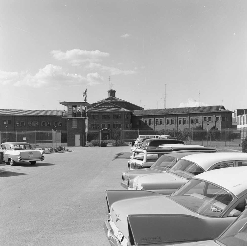 Front of the Wynne Unit, circa 1964