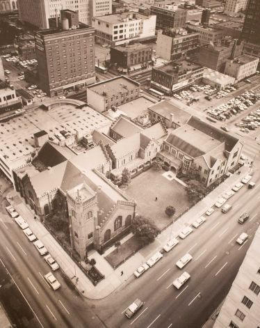 Aerial Photo of Cathedral Complex