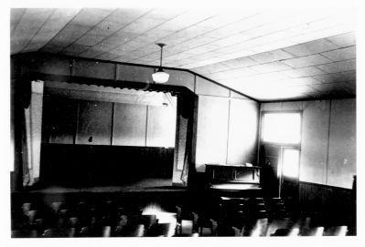 Interior view, Sam Houston High School Auditorium, 1950
