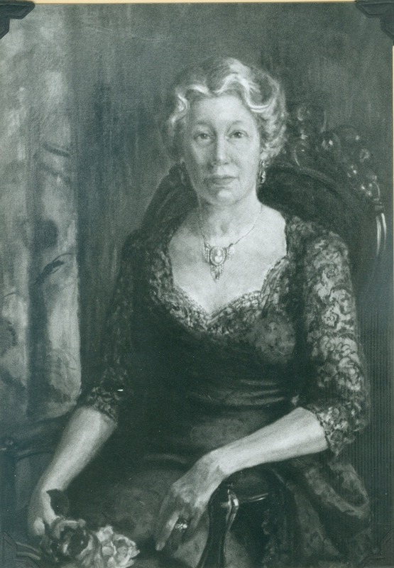 Painting of Mamie Powell (photo)