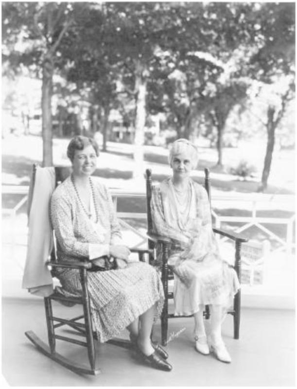 Eleanor Roosevelt and Anna Hardwicke Pennybacker