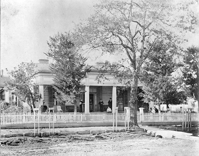 Sandford St. John Gibbs home, built in 1855.