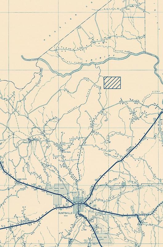 Walker County Highway Map
