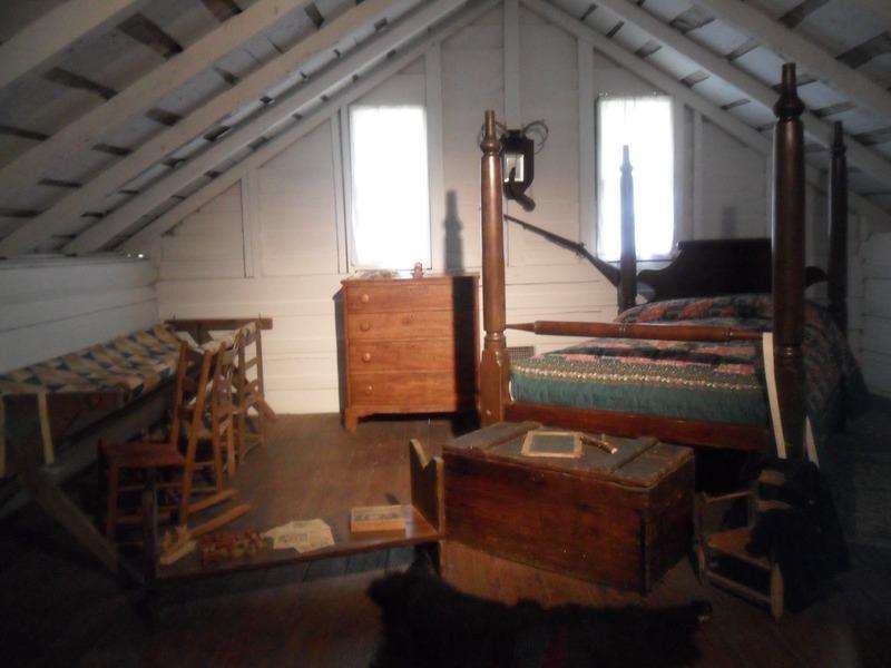 """Woodland Home"" upstairs boy's bedroom"