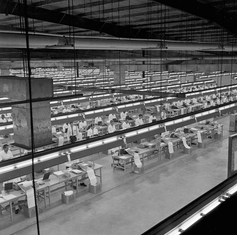 Records Conversion at the Wynne Unit, August 14, 1968