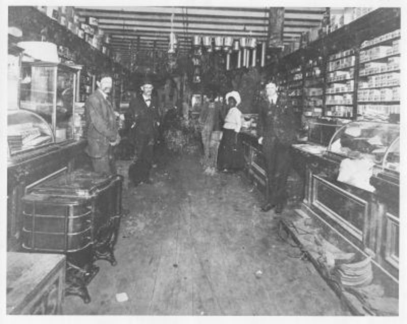 Inside the Gibbs Store