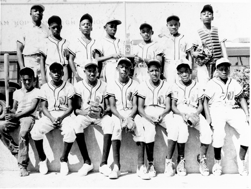 Little League Team Organized by Felder Jones 1950