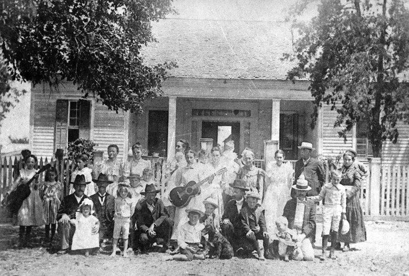 Captain Joseph Werner family