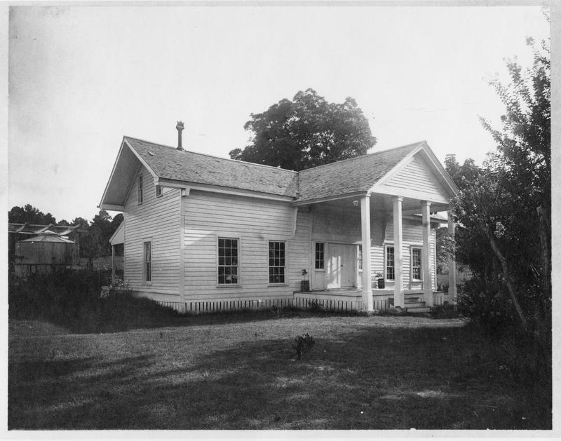 """North side of """"Woodland Home"""" in 1912"""