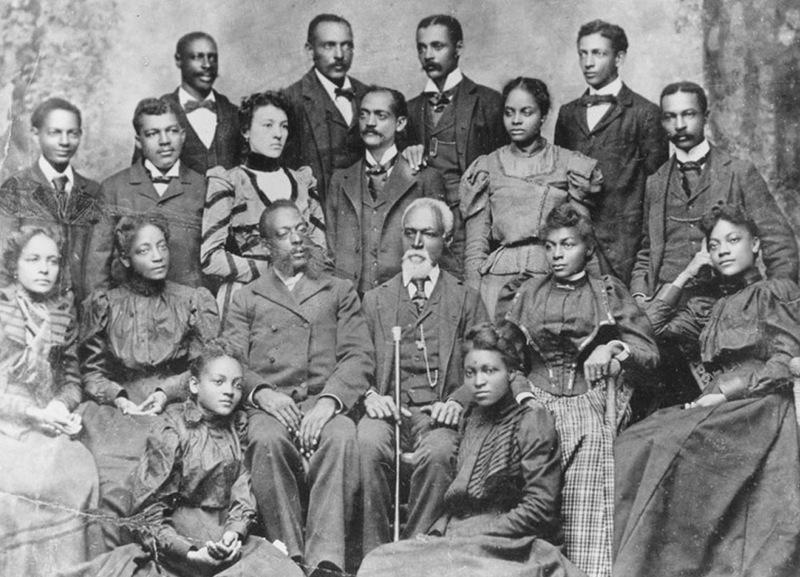 Joshua Houston Sr. and Family, 1898