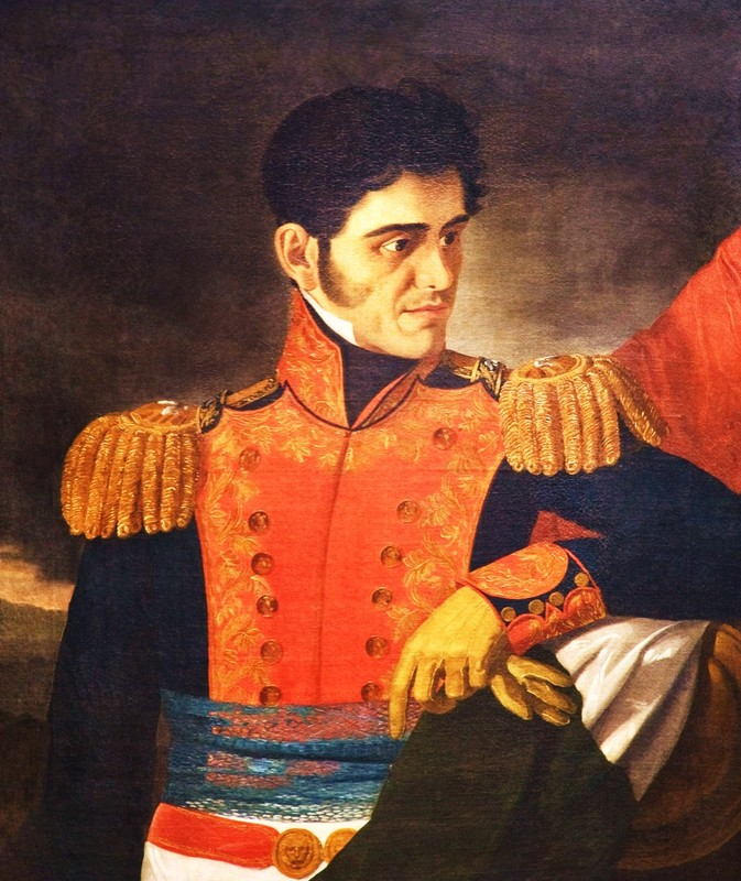 President and General Lopez de Santa Anna