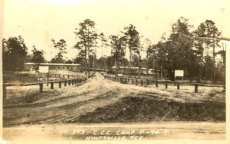 Civilian Conservation Corps Camp, Huntsville, Texas