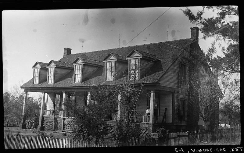 Garrett House from Southeast