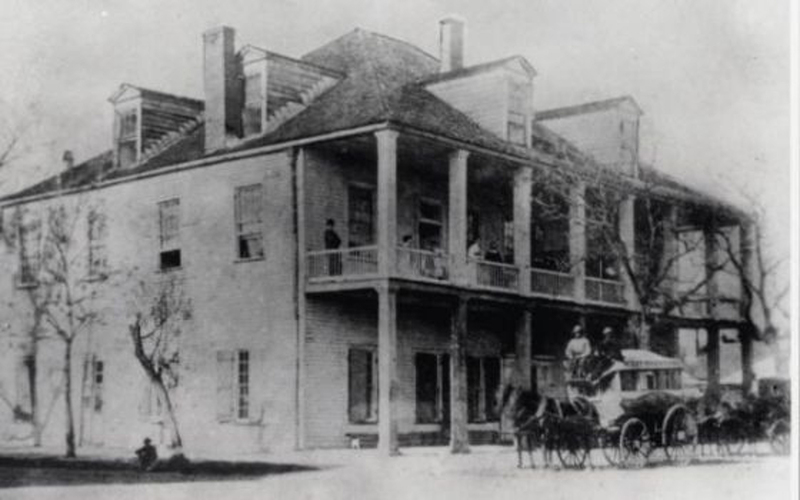 Capitol Building/Old Capitol Hotel (1837-1881)