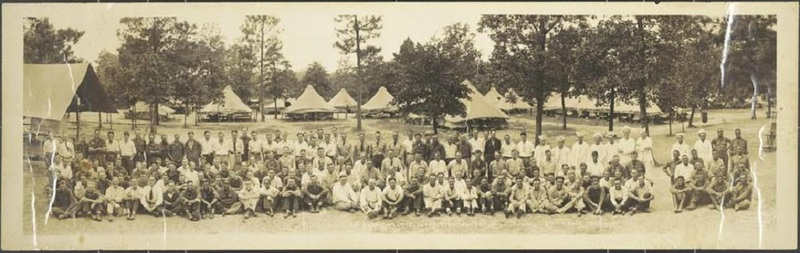 Pineland Civilian Conservation Corps (CCC) Camp, August 1933