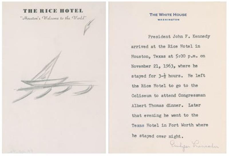 JFK Doodle (1963)