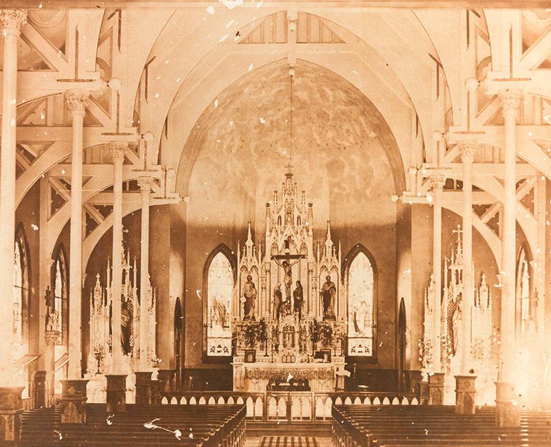 Interior of St. Joseph Catholic Church