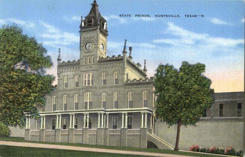Old Huntsville Prison Administration Building
