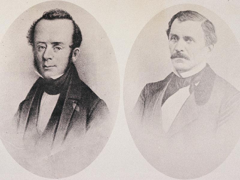 John Kirby Allen (1810-1838) and Augustus Chapman Allen (1806-1864)