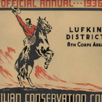 Civilian Conservation Corps (CCC) Lufkin District 1936 Annual