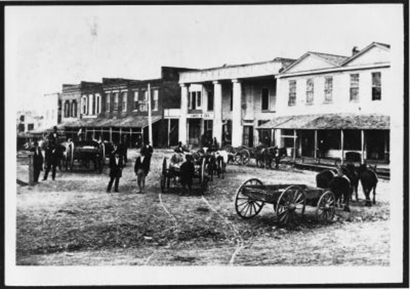 Masonic Lodge Temple, c. 1872