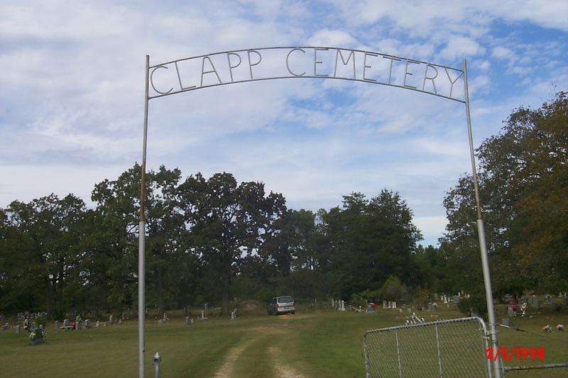Clapp Cemetery Entrance