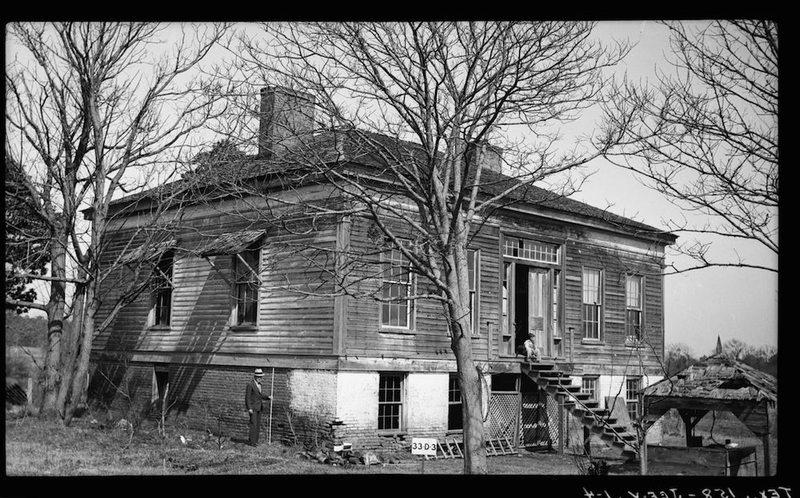 Freeman Plantation House from Southwest