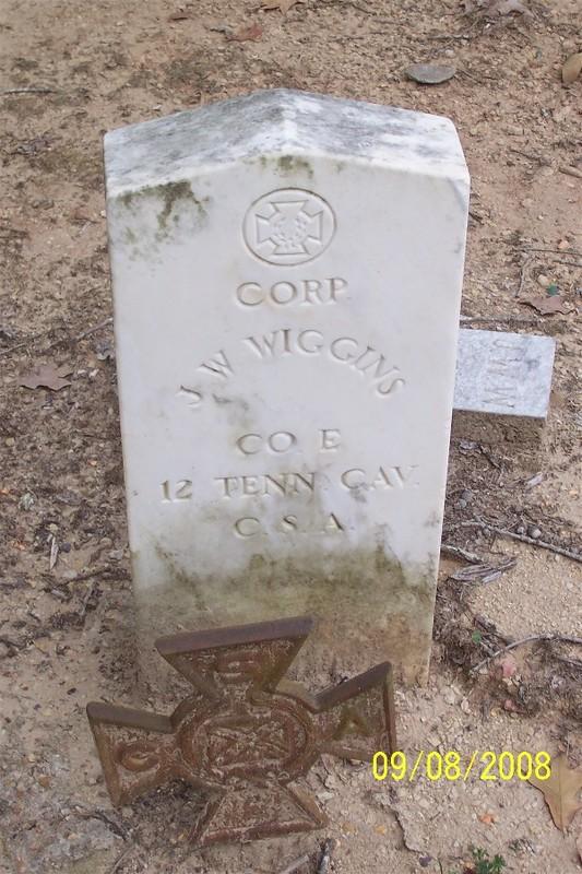 JW Wiggans Gravestone