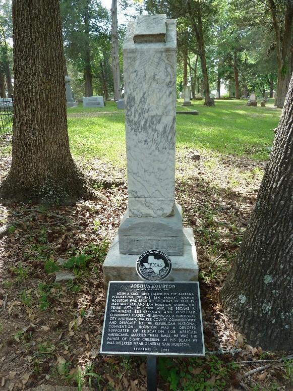 Joshua Houston Grave Marker