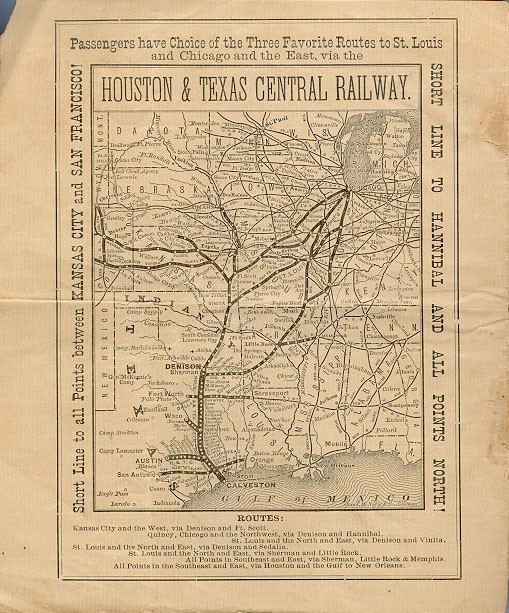 Houston and Texas Central Railroad