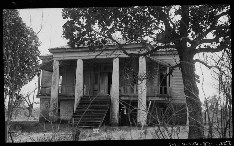 Freeman Plantation House North Elevation