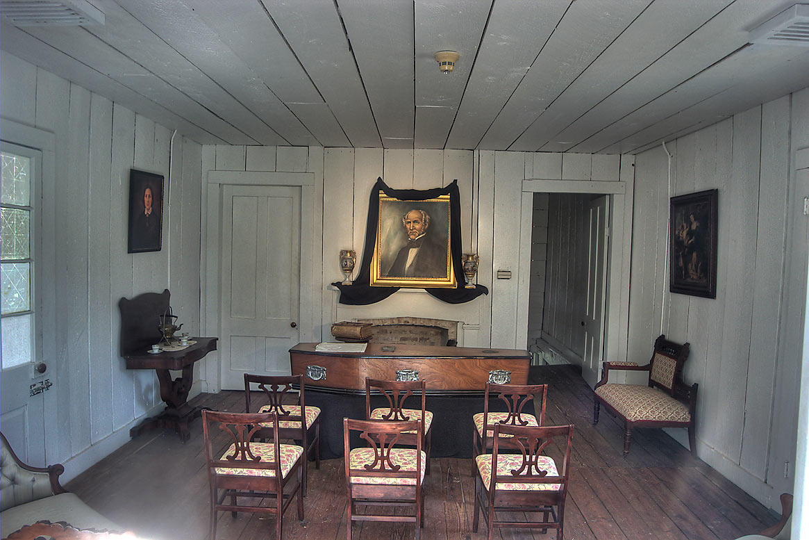 Front Upstairs Parlor Of The Steamboat House And The Location Of Sam
